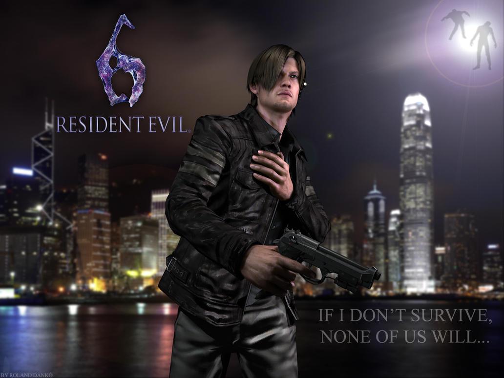 Leon S. Kennedy - Resident Evil 6 by Roli29