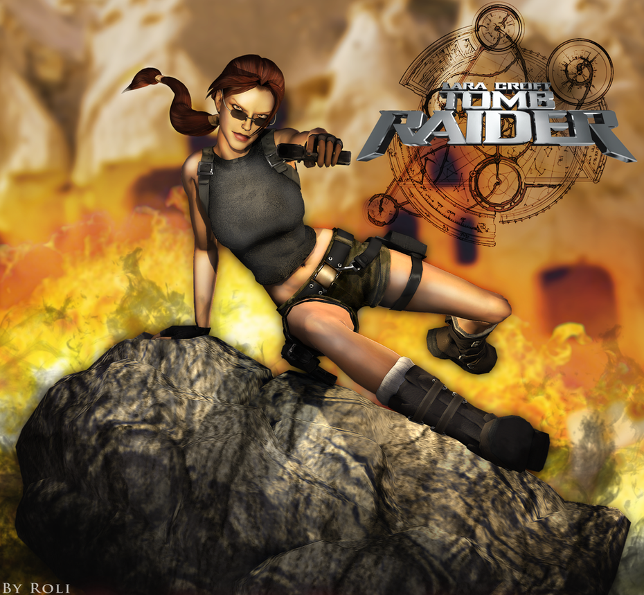 Tomb Rider Wallpaper: The Angel Of Darkness Render By Roli29 On