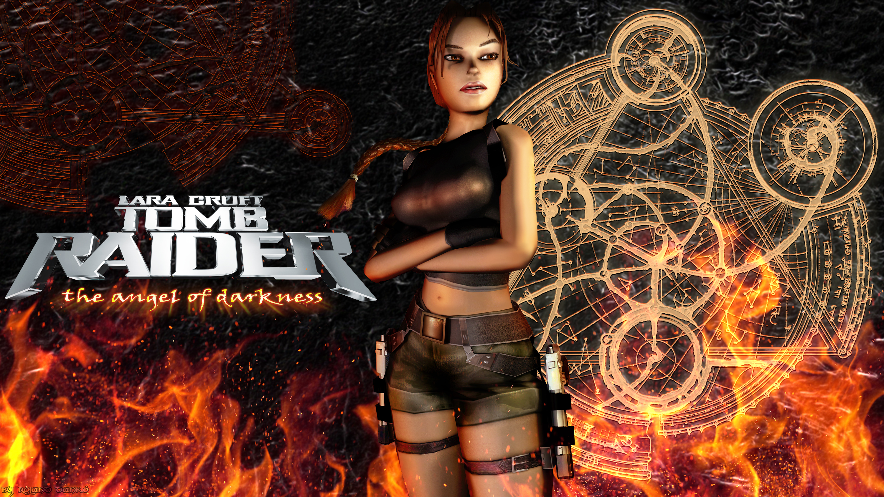 Tomb Raider The Angel Of Darkness Wallpaper By Roli29