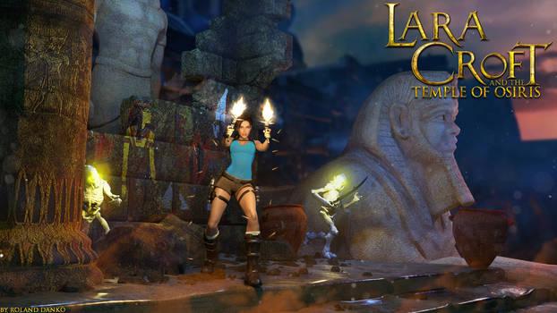 Lara Croft and Temple of Osiris Wallpaper