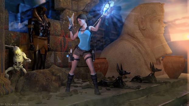 Lara Croft and the Temple of Osiris Wallpaper #2