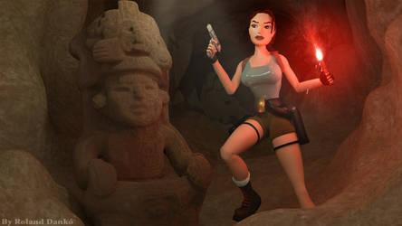 Tomb Raider - 'In The Dark' wallpaper