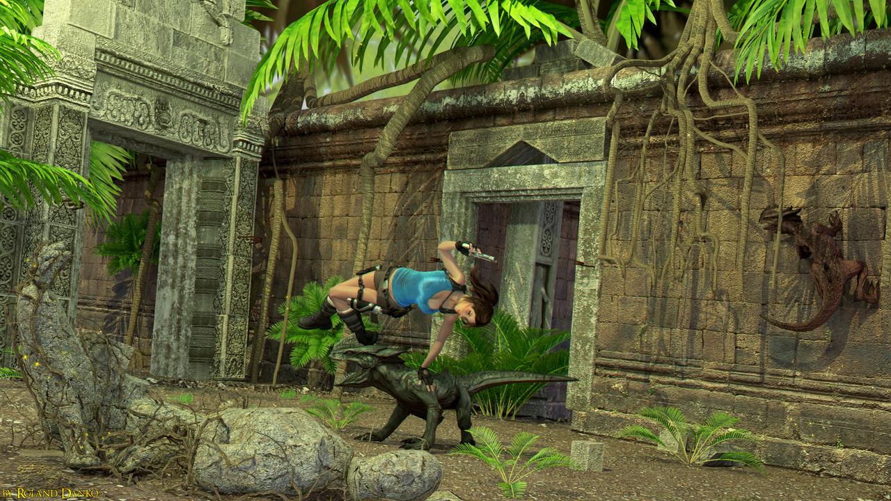 Lara Croft: Relic Run wallpaper