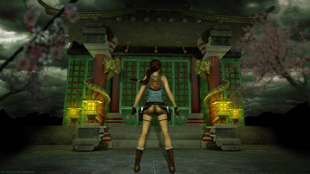 Tomb Raider 2 - Floating Islands wallpaper