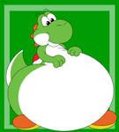 Fat and Happy Yoshi