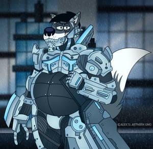 Cybernetic Wolf