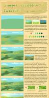 Simple Grassland Tutorial + brush settings