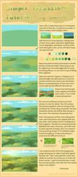 Simple Grassland Tutorial + brush settings by Lambity