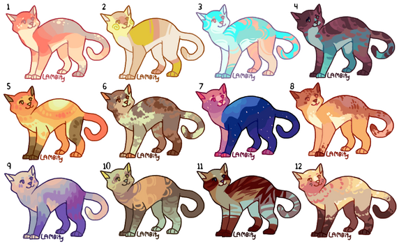 [5/12 OPEN] 300 point Cat Adopts by Lambity