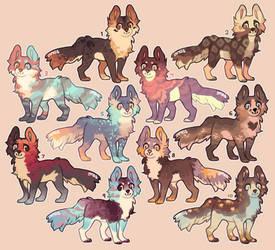 (5/10 OPEN) Puffy Doggies Adopts Batch 2