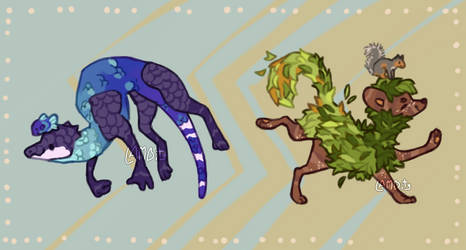 (1/2 open) adopts - Sea and Tree