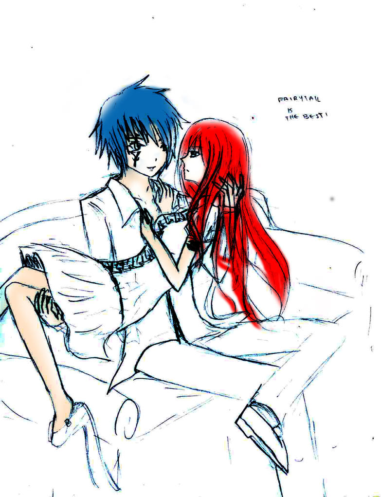 how to draw erza and jellal