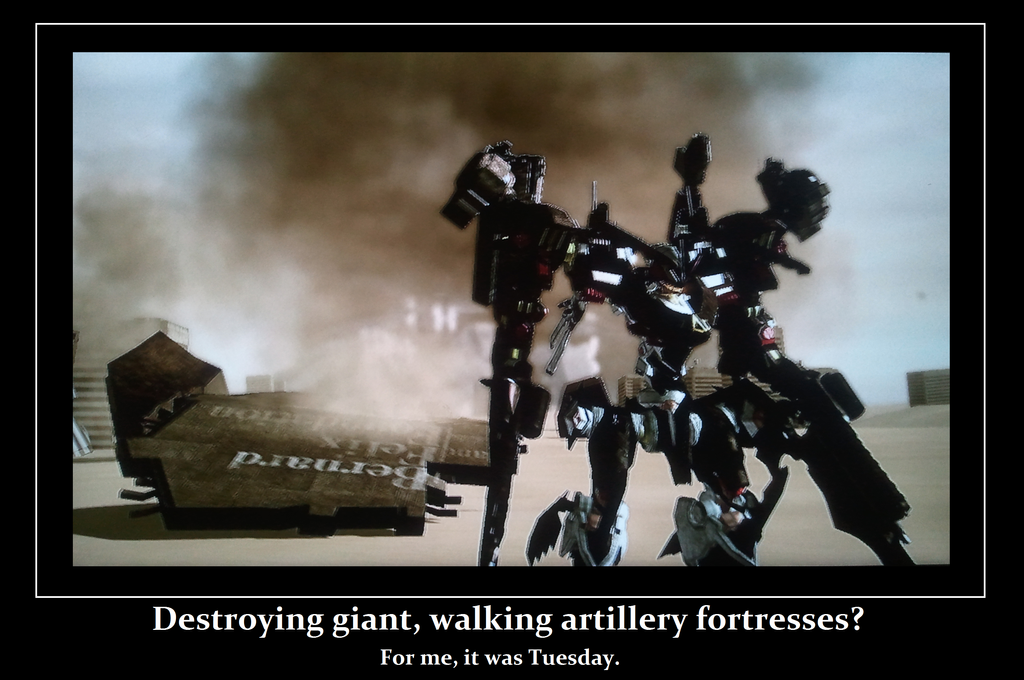 Armored Core For Answer Motivational By TheDarkbreaker