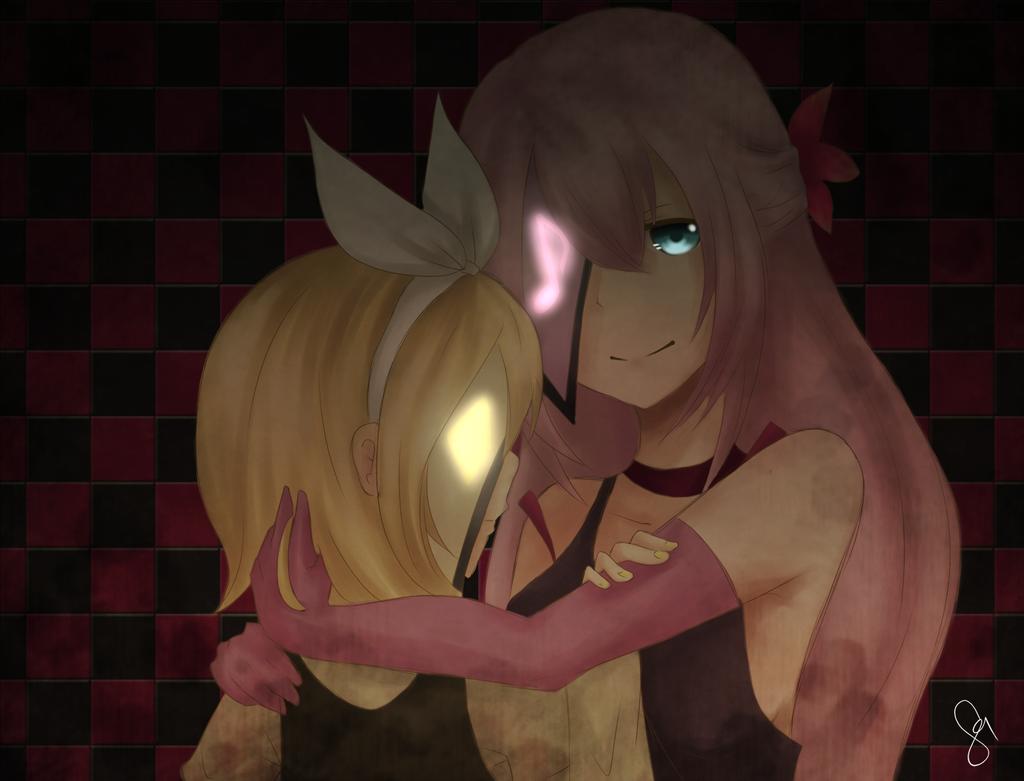 AT: Rin and Luka by jyokyori