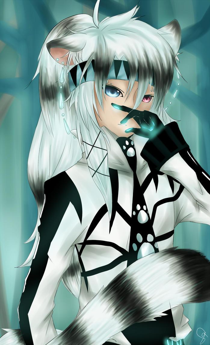 White Tiger by jyokyori
