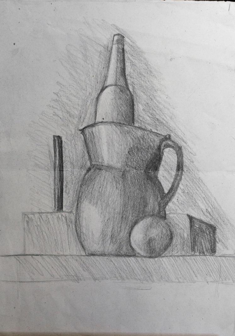 Still life study 1 by Dairanhill