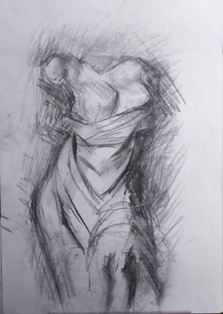 Aphrodite carbon sketch by dairanhill on deviantart