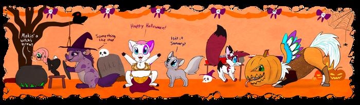 WN : Halloween by HoppityandBee