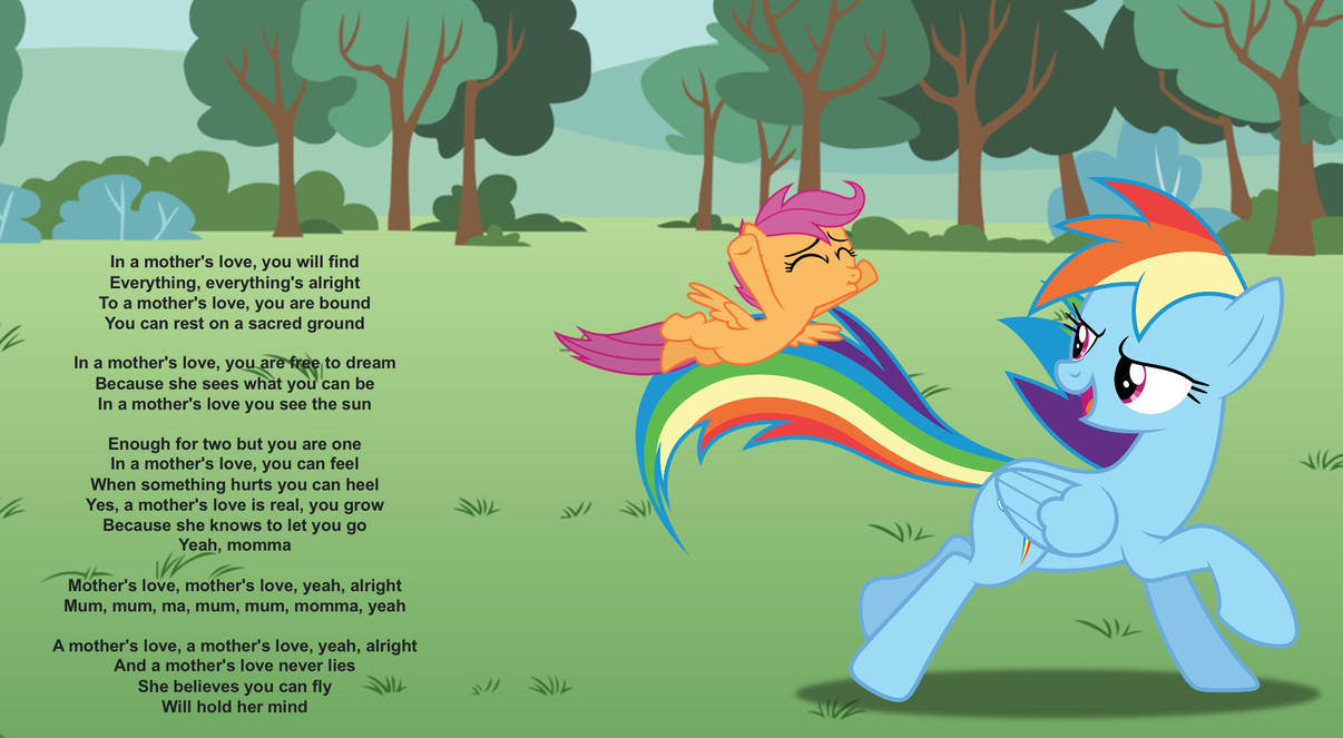 Rainbow Dash S Song About Her Daughter Scootaloo By Darkmoonanimation On Deviantart Scootaloo is a growing filly but like most they start to learn more of dangerous tricks they can perform, scootaloo tries one and she might just. deviantart
