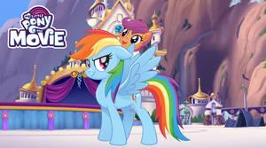 Rainbow Dash and Scootaloo MLP Movie Version