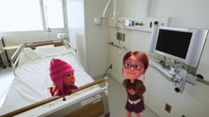 Margo visits Edith