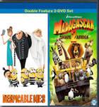 Despicable Me 3 and Madagascar 2 DVD set