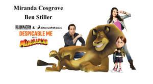 Ben Stiller and Miranda Cosgrove