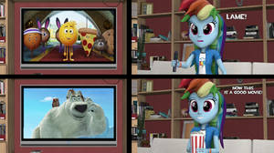 Rainbow Dash likes Norm of the North