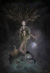 The reaper by MargaretSeidler