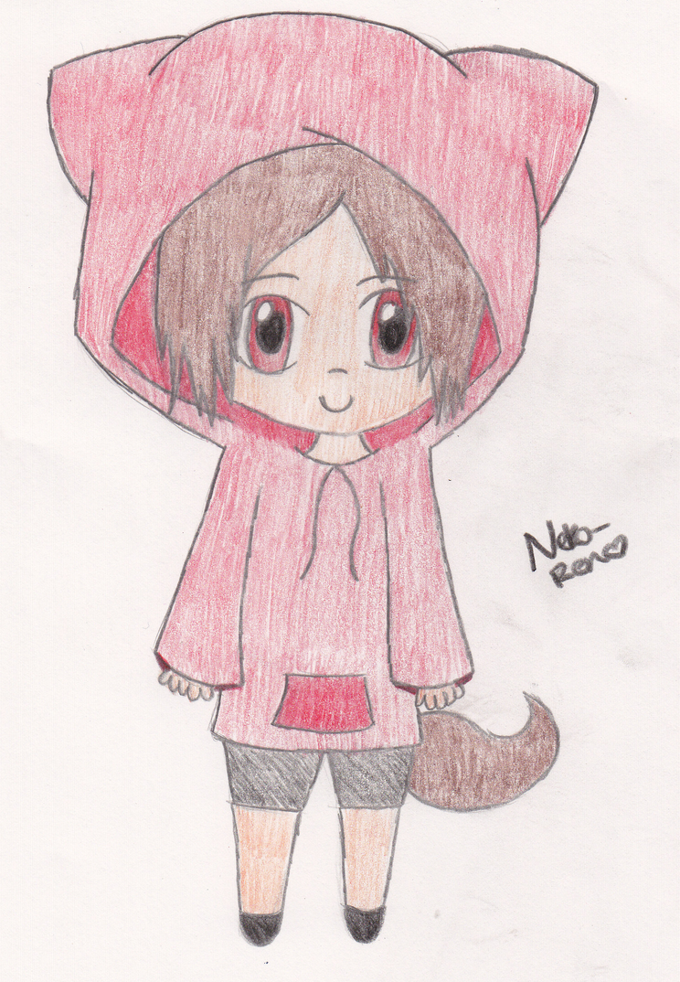 Chibi Neko Boy by Neko-Ren on DeviantArt
