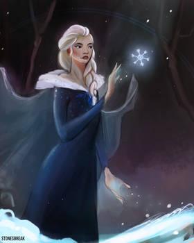 Elsa from Frozen!!