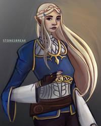 Zelda by stonesbreaak