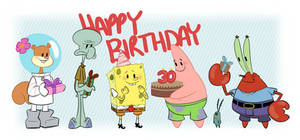 Happy Birthday Spongebob!