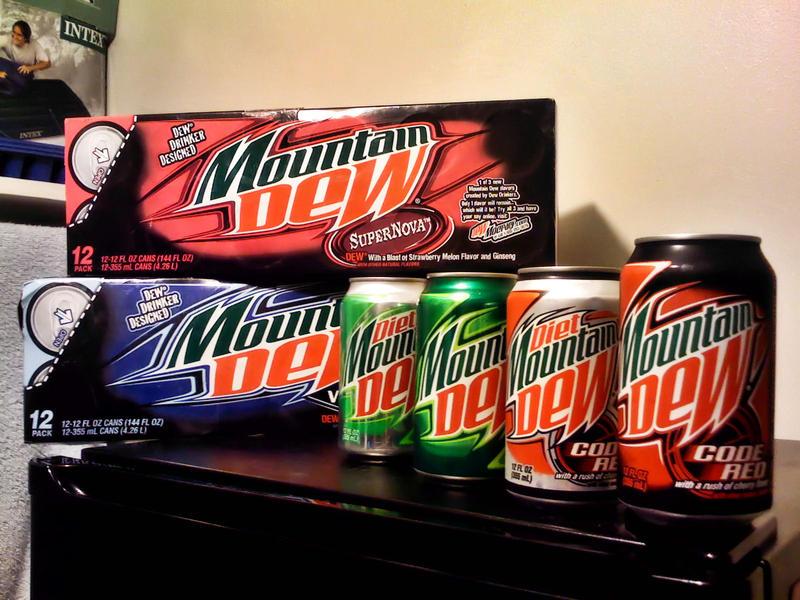 mountain dew flavors by 0nett on deviantart