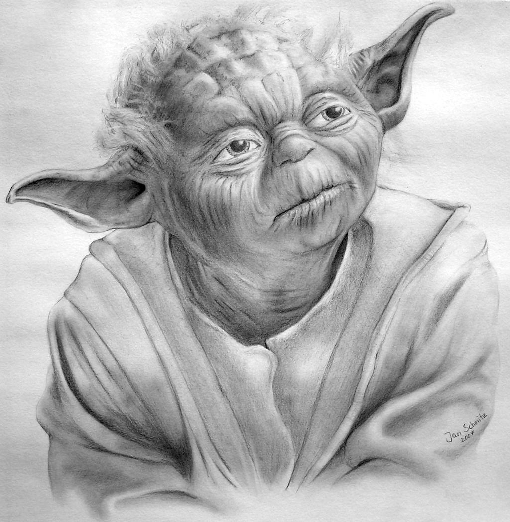 Yoda by contraclockwiseYoda Face Drawing