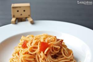 Danbo - Spaghetti Matriciana by Leminton