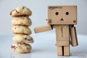 Danbo - Cranberry cookies by Leminton