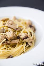 Shitake Chicken Spaghetti