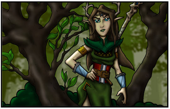 Janelle, Druid of the Forest