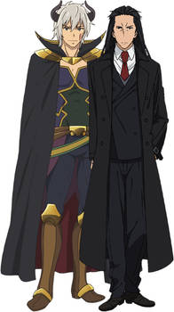 Diablo and Hakuto Kunai