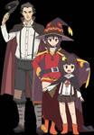 Hyoizaburoo, Megumin and Komekko