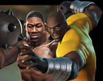 Luke Cage and Gary Holmes