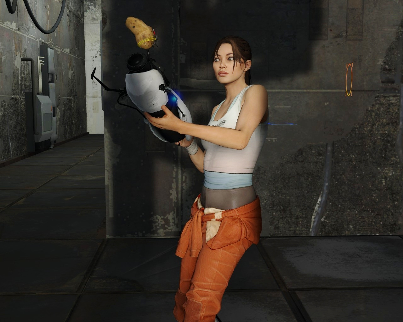 Big boobed chell portal 2 xxx images