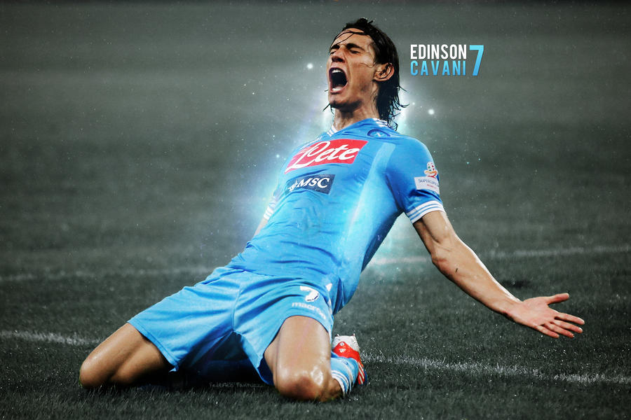 Edinson Cavani 7 Wallpaper by SentonB