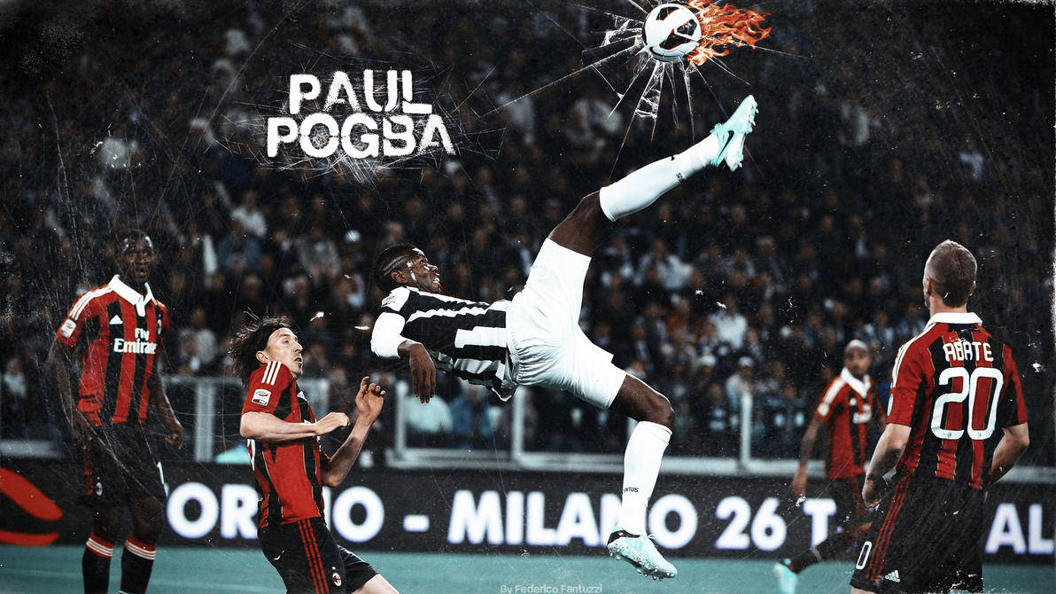 Paul Pogba Wallpaper By SentonB On DeviantArt