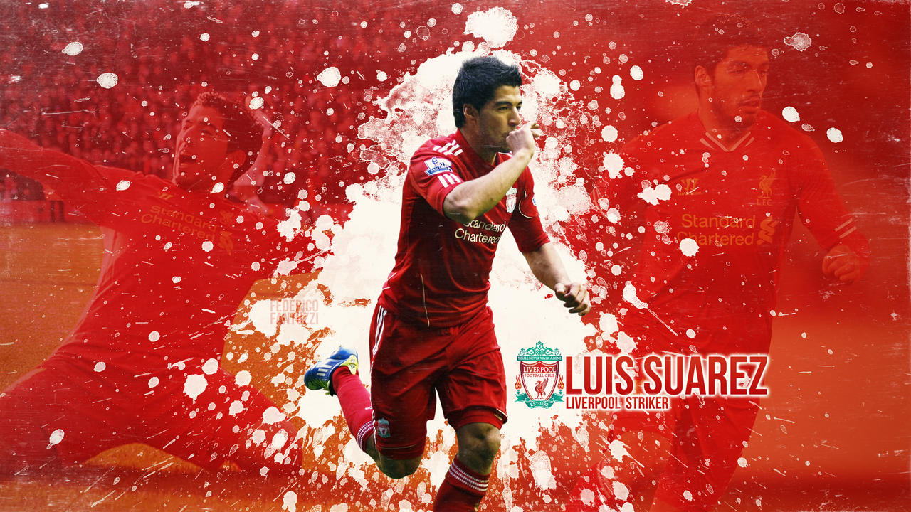 Luis suarez liverpool striker wallpaper by sentonb on deviantart - Suarez liverpool wallpaper ...