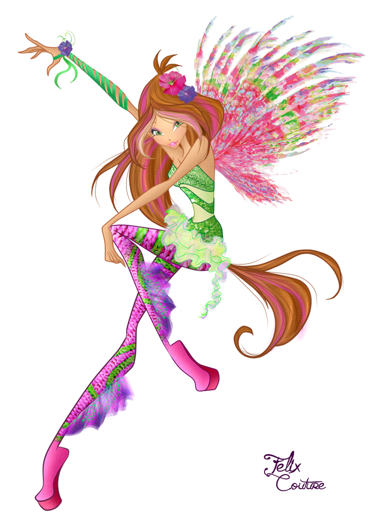 Winx - flora sirenix couture by FelixCouture on DeviantArt