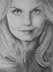 Emma Swan - Once Upon a Time drawing by OnceUponATime221B