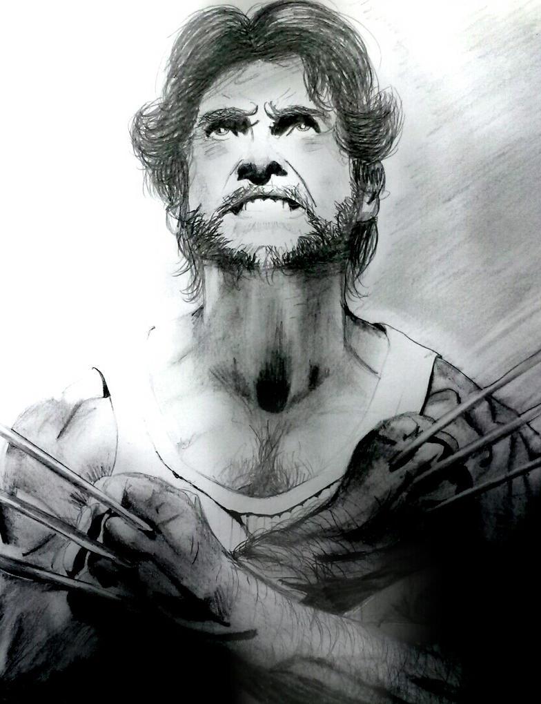 Wolverine X-men drawing by OnceUponATime221B