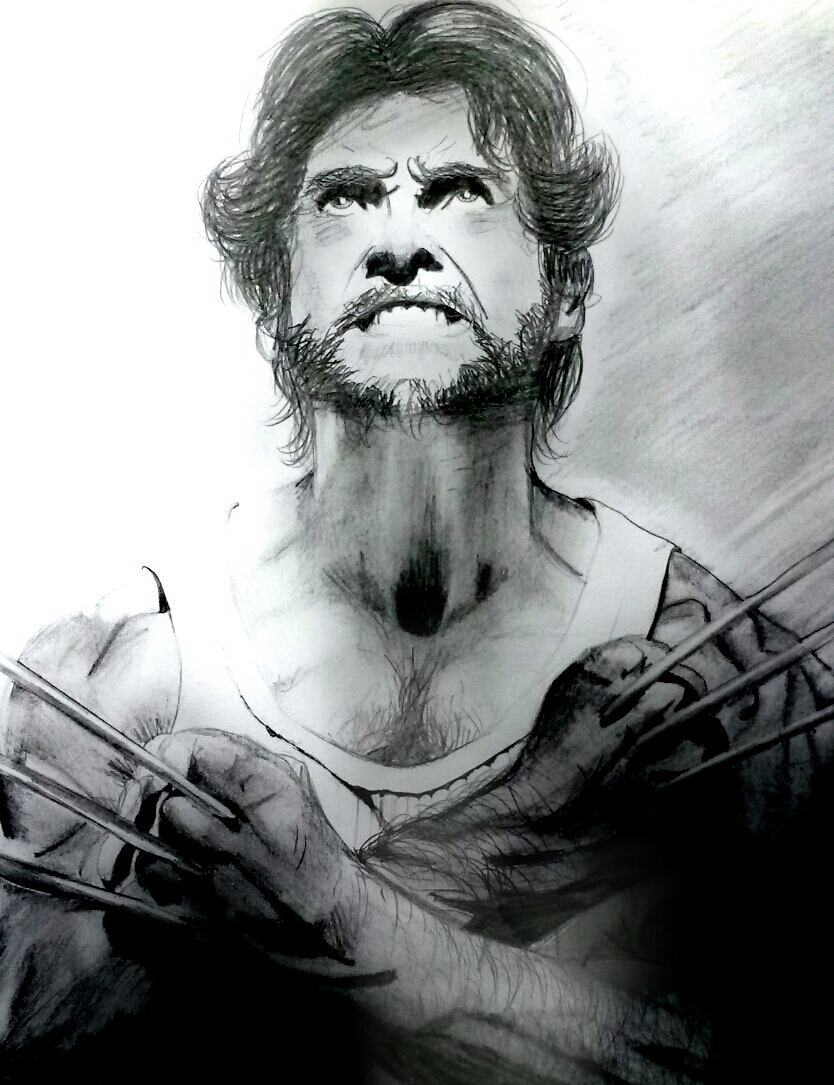 Wolverine X-men drawing by OnceUponATime221B